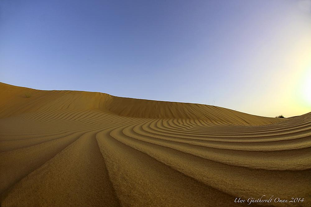 Himmel und Sand