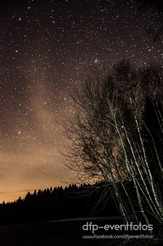 Himmel und Sterne