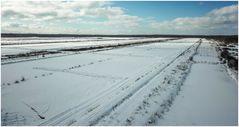 Himmelmoor Winterlandschaft