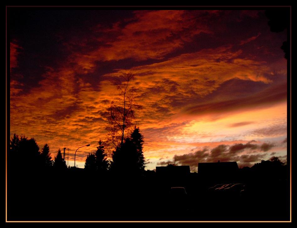 Himmels Landschaft