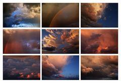 Himmels- und Wolkenstimmung