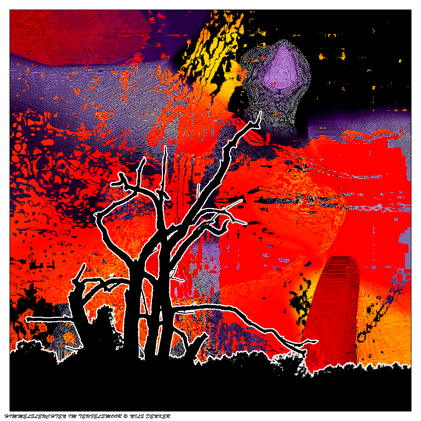 Himmelsleuchten im Teufelsmoor - (cl)
