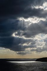 Himmelslicht über dem Bodden