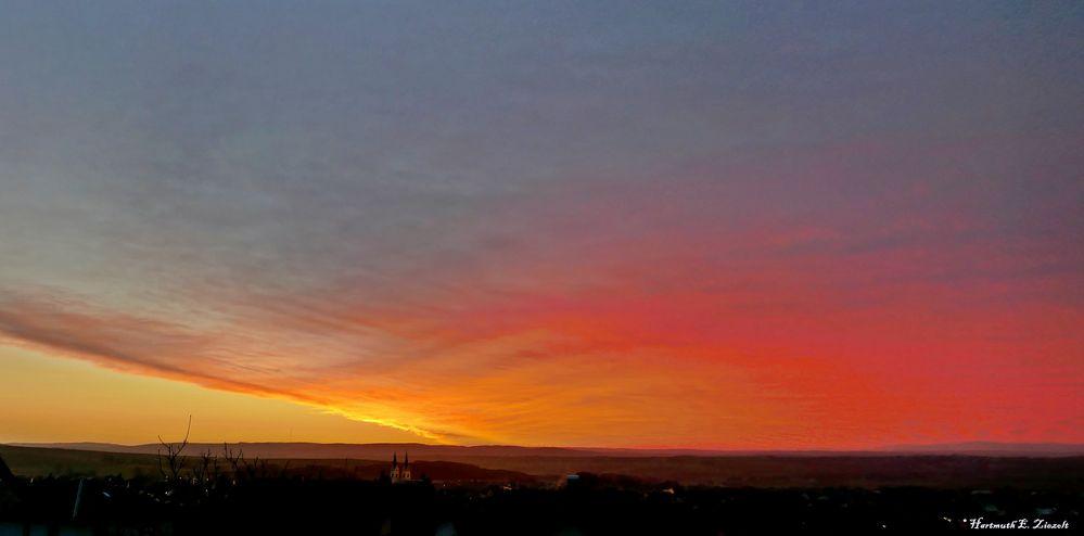 Himmlische Farben...