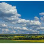 Himmlischer Blick auf den Solling - Radtour in den Frühling