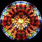 Himmlisches Jerusalem in St. Michael Marl -  Entwurf: Trude Dinnendahl-Benning