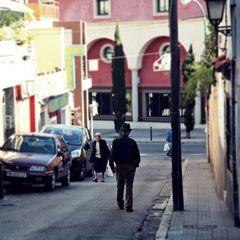 hinab zur Avenida Joan Miró