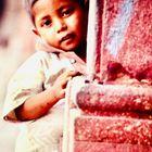 Hindu child with sensitive Hindu character
