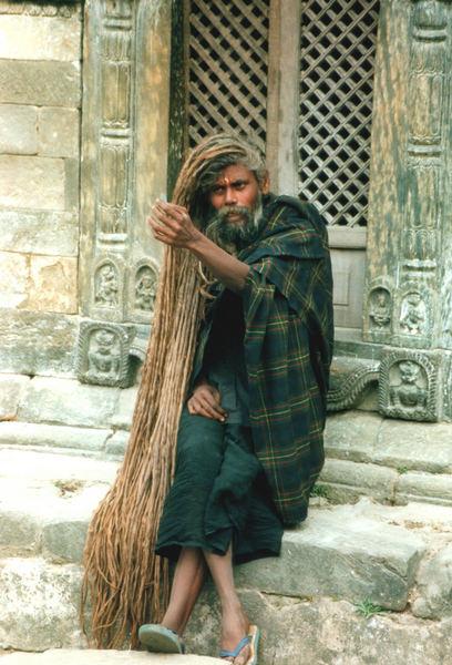 Hindu in Phashupatinath
