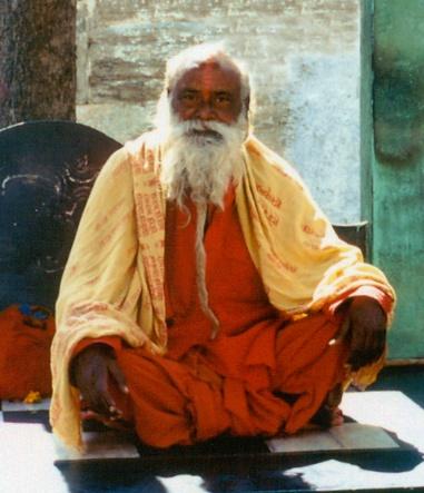 Hindu-Priester in Udaipur