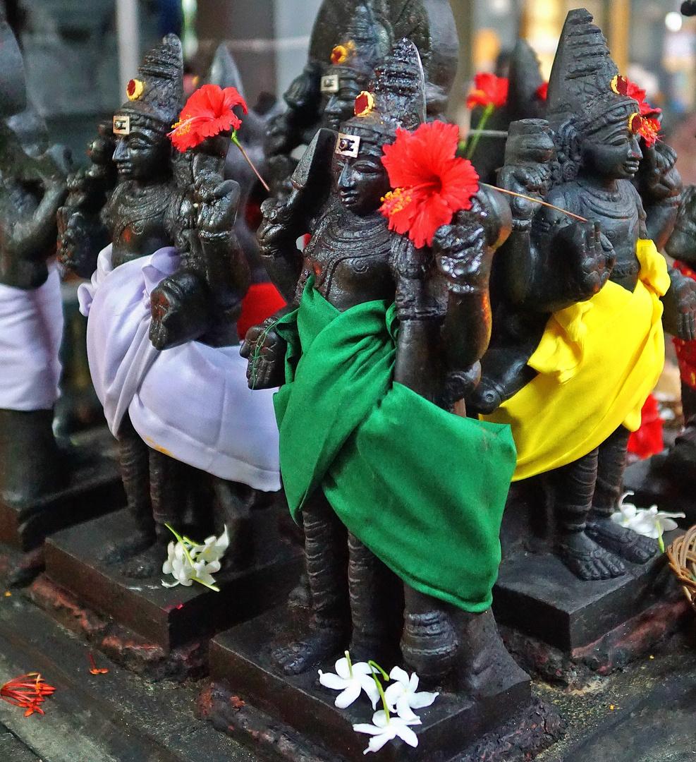 Hindu-Tempel in Victoria - Mahé