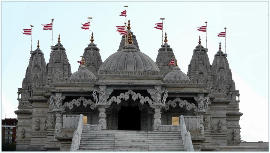 Hindu Tempel - Neasden (London)