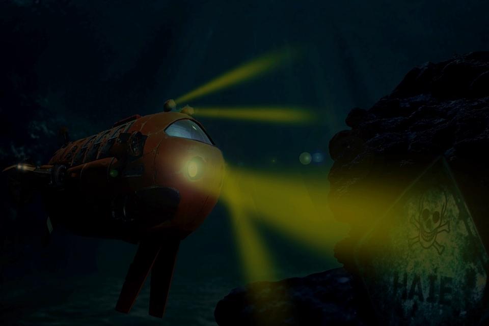 Hinein ins Abenteuer unter Wasser