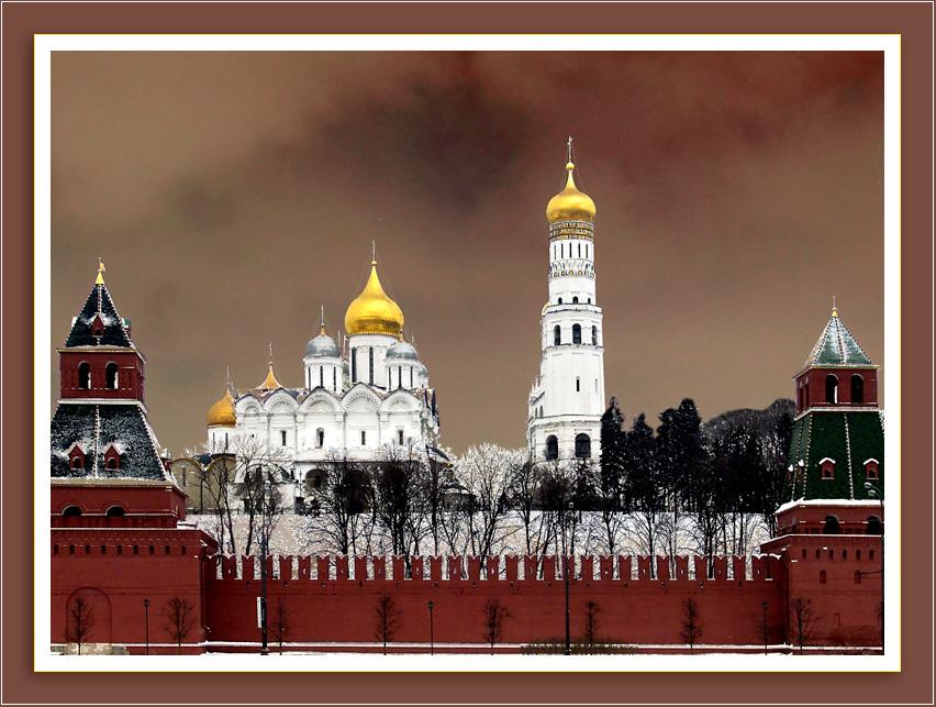 Hinter den Kreml-Mauern...