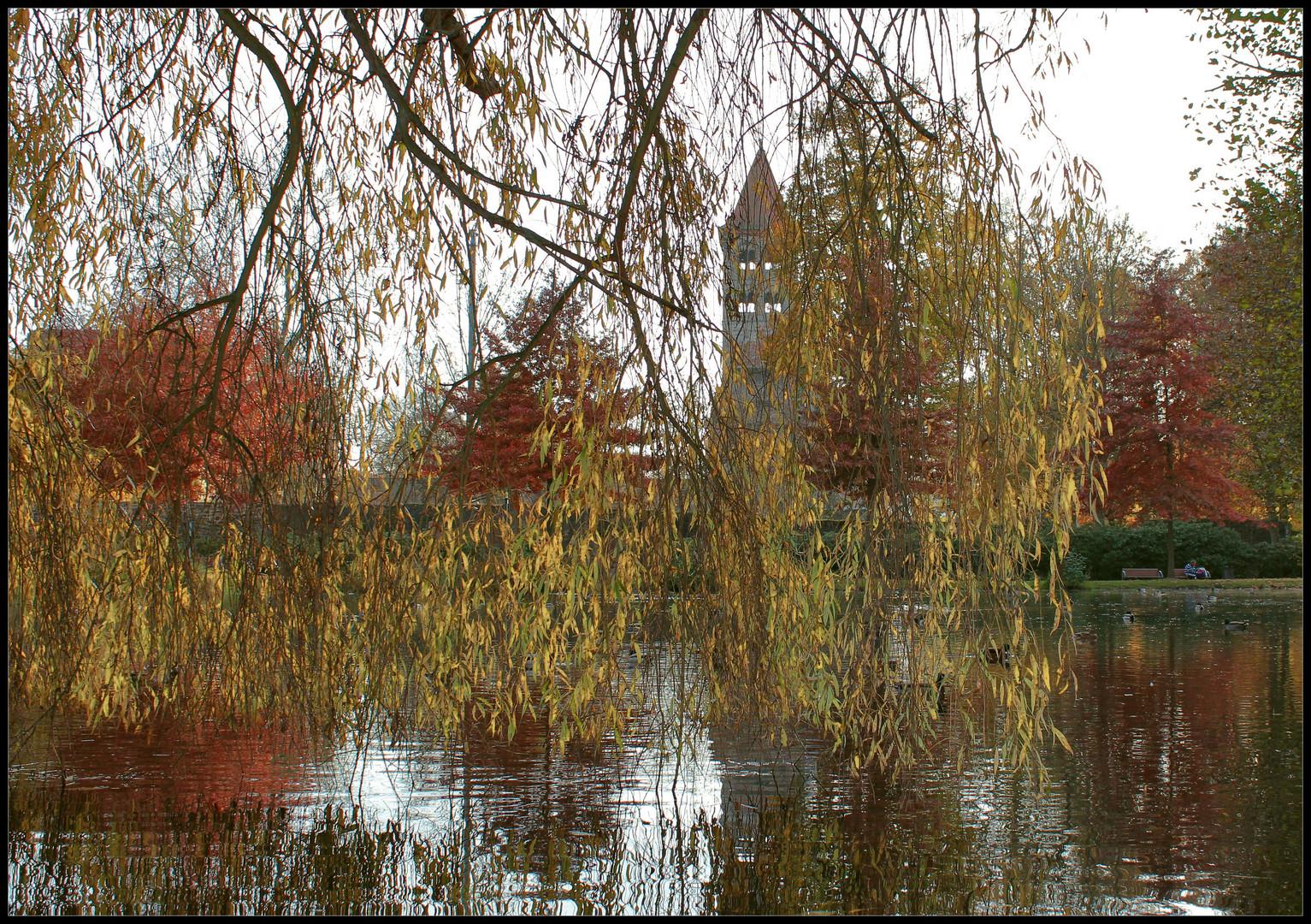 Hinter Den Kulissen Foto Bild Jahreszeiten Herbst Deutchland