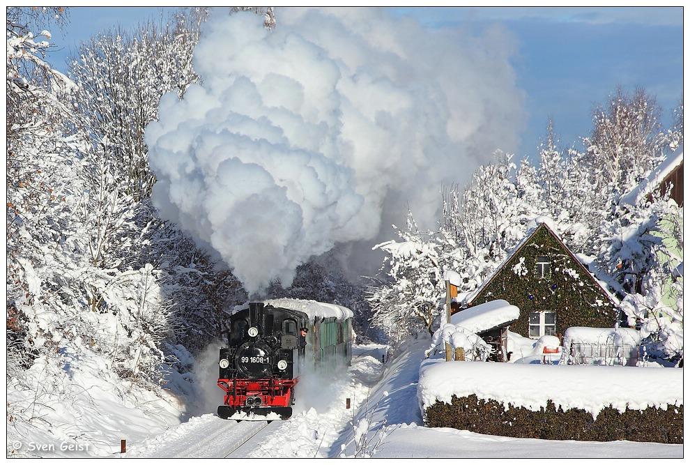Hinter Obercarsdorf im Schnee (2)