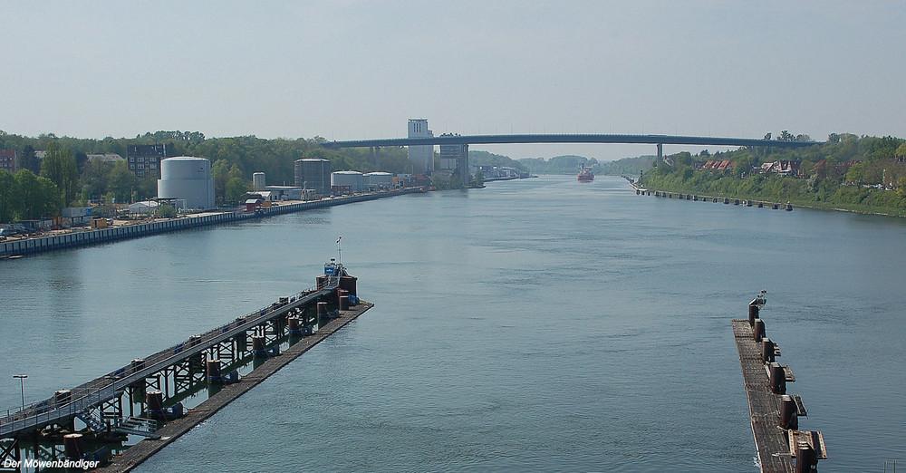 Hinter uns liegen 98,637 Kilometer Nord-Ostsee-Kanal