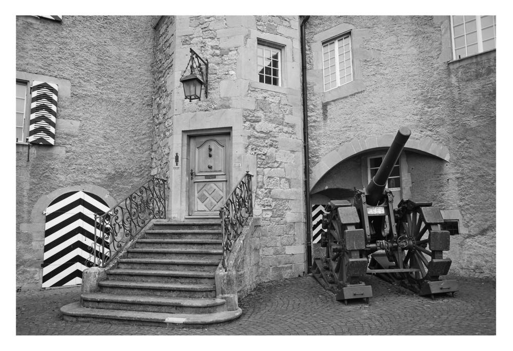 Hintereingang Schloss Murten