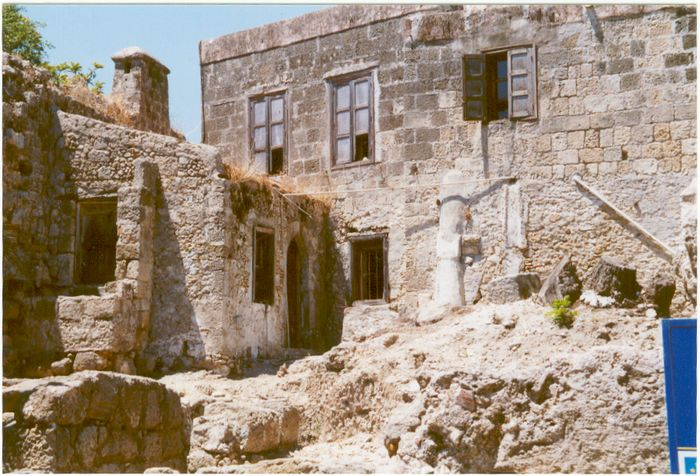 hinterhöfe-Rhodos