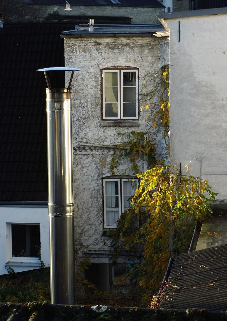 Hinterhof Foto Bild Architektur Stadtlandschaft