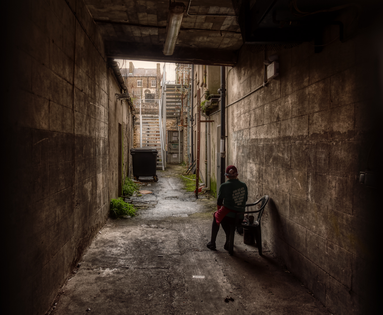 Hinterhof Foto Bild Europe United Kingdom Ireland
