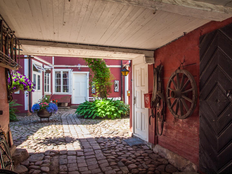 Hinterhof in Småland