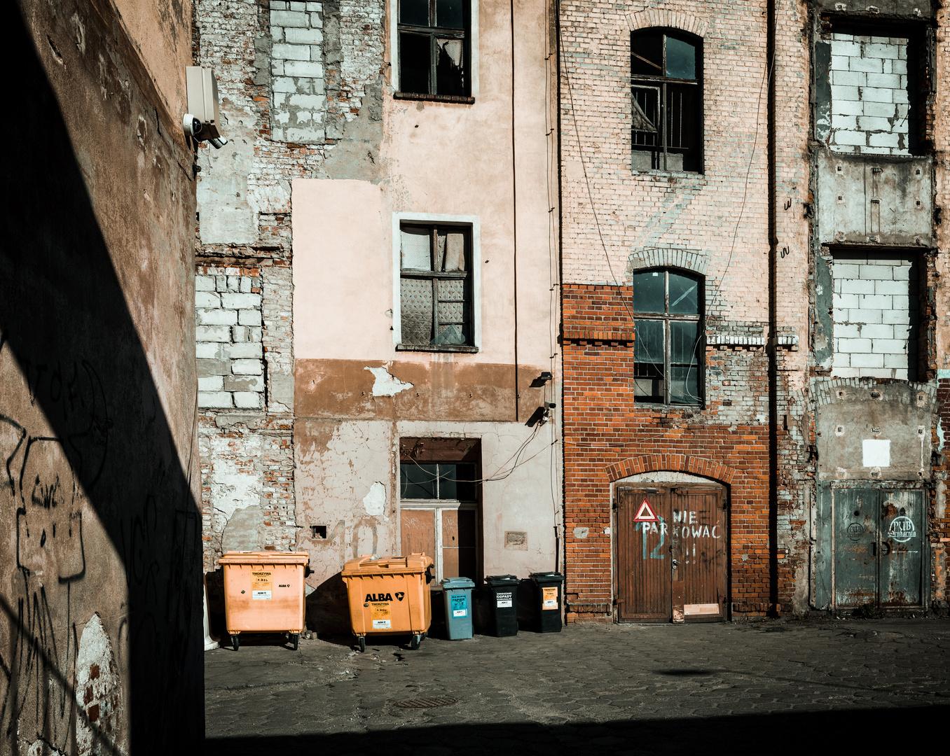 Hinterhof In Wroclaw Foto Bild Architektur Europe