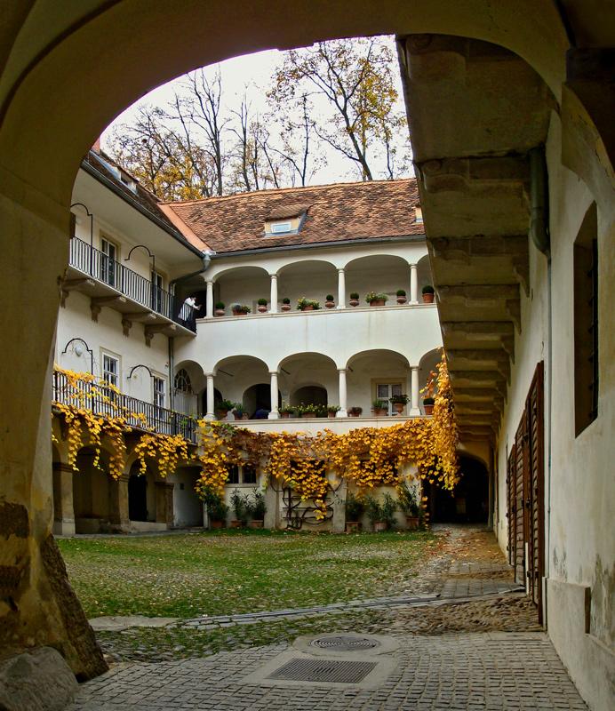 Hinterhofidylle in Graz