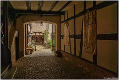 Hinterhofsituation in Staufen