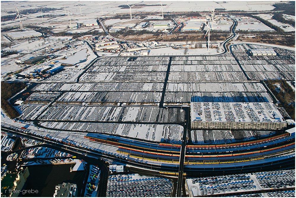 hinterland des autoterminals im nordhafen bremerhaven foto bild deutschland europe bremen. Black Bedroom Furniture Sets. Home Design Ideas