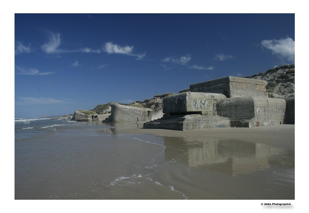 Hinterlassenschaften am Strand