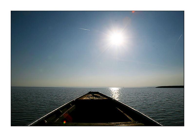 hintern Horizont gehts weiter . . .