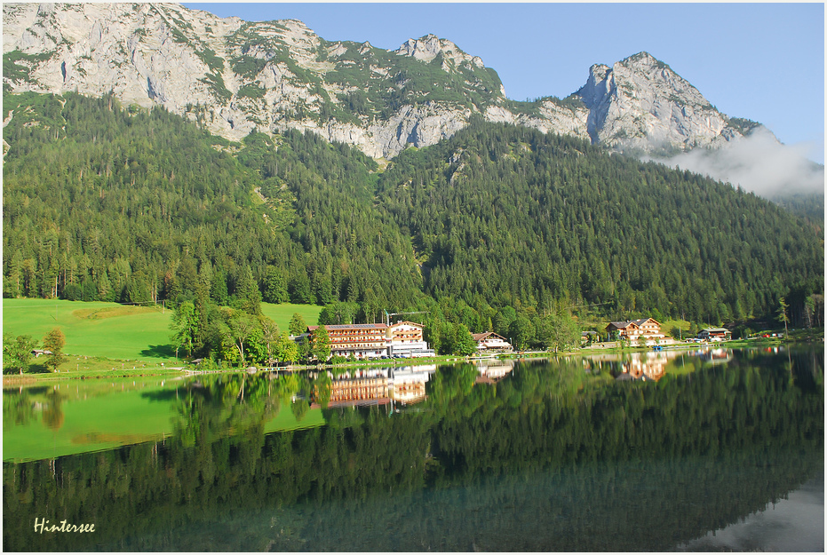 Hintersee August 2011