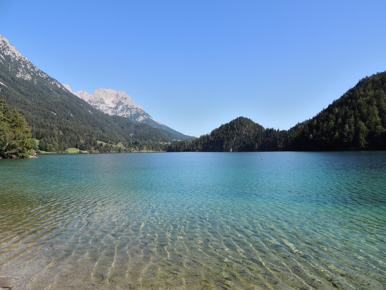 Hintersteinersee am Fuße des Wilden Kaisers (Scheffau-Tirol)