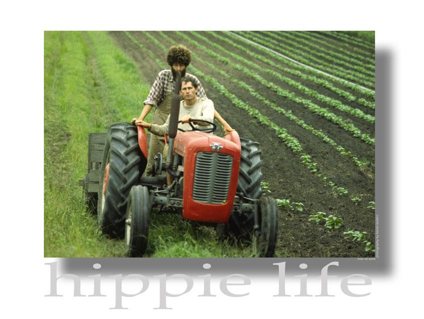 Hippie Life - 2 Men at Work