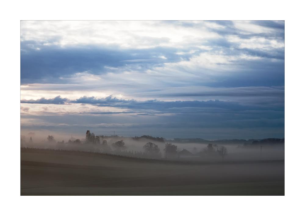 Hirtlbach im Nebel