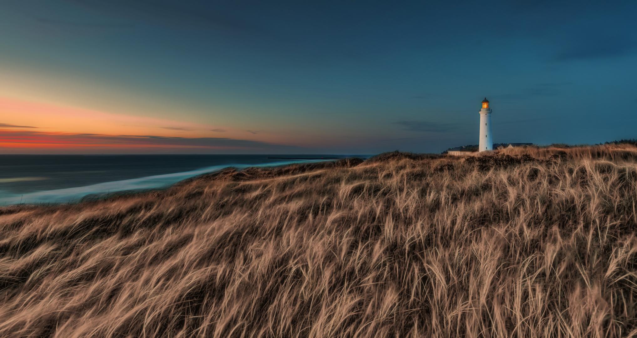 Hirtshals Fyr, der Leuchtturm im Norden Dänemarks