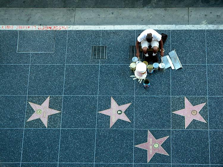 His walk of fame