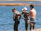 Histoire de boue debout......! Saline de Sal Cabo-Verde