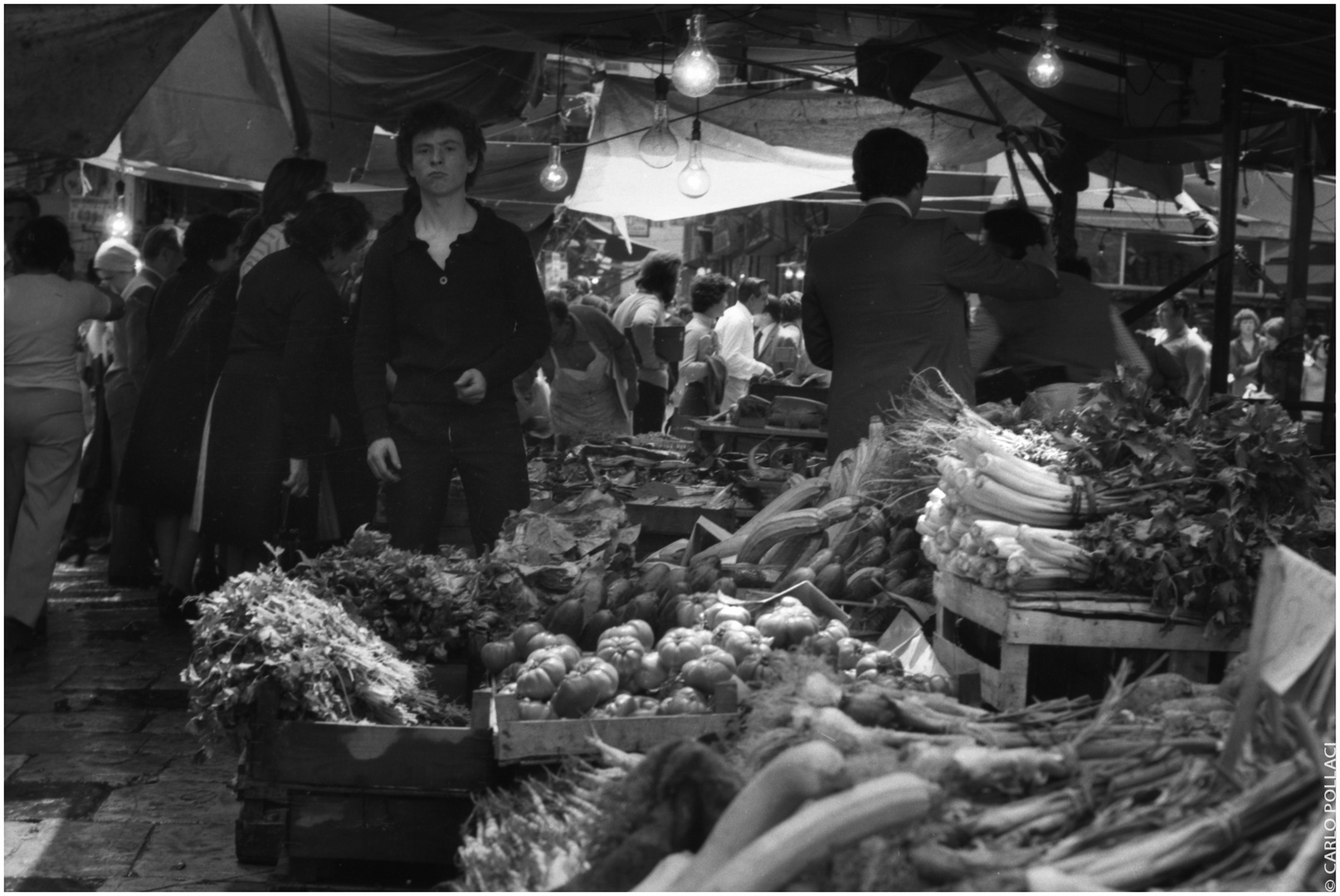 "Historical market, the ""Vucciria"", 1977 #6"