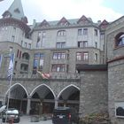 historical palace in St. Moritz