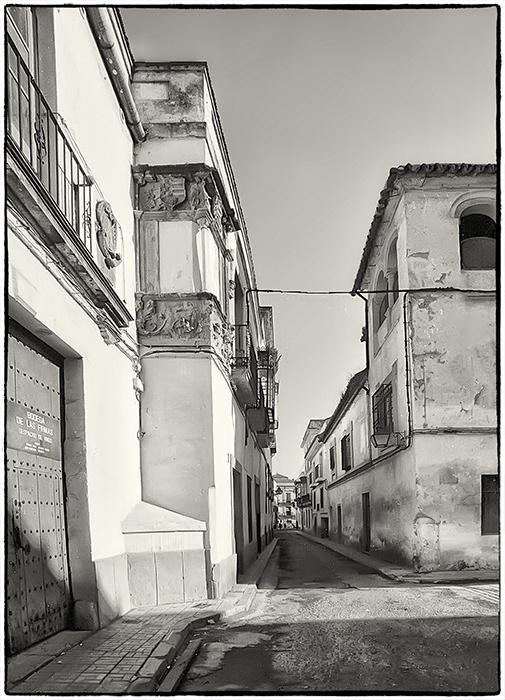 Historische Altstadt, irgendwo in Spanien