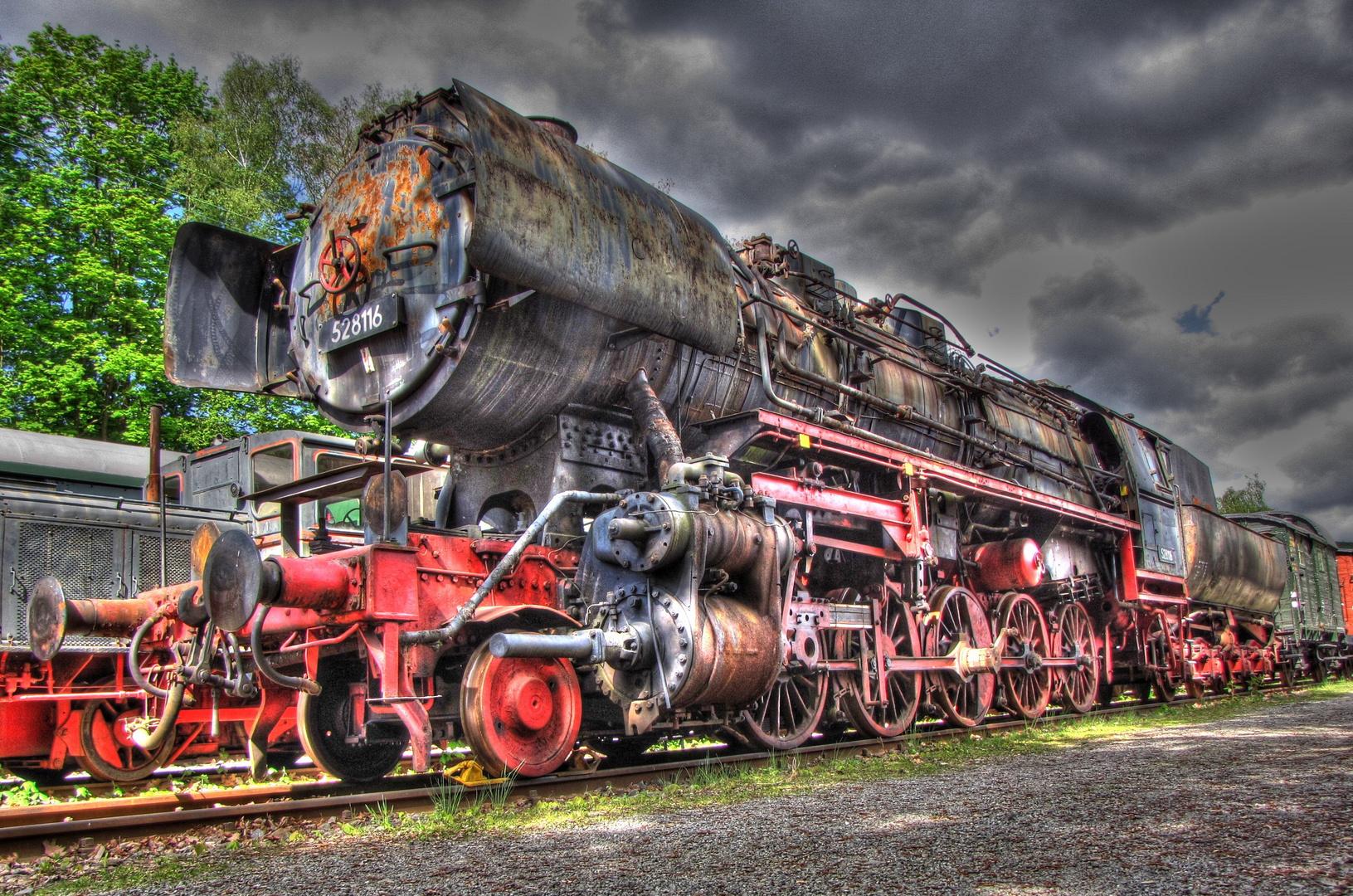 historische Dampflock HDR