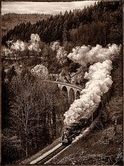 Historische Dampflok