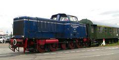 Historische Diesellok aus Kiel