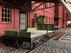 Historische Fabrik - Diorama