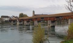 Historische Holzbrücke von Bad Säckingen