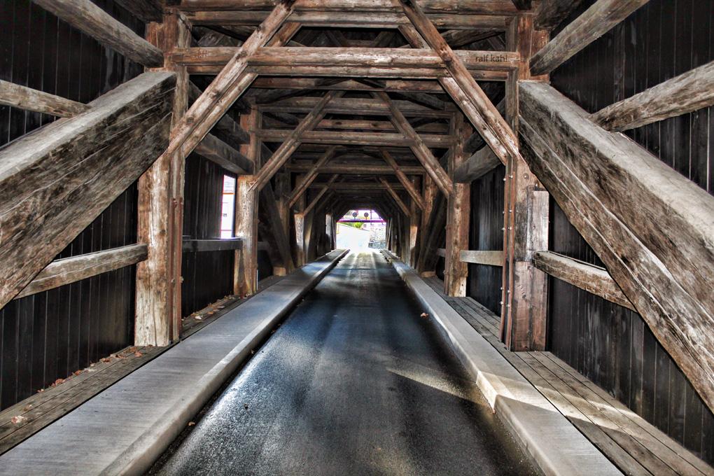 Historische Holzbrücke Wünschendorf