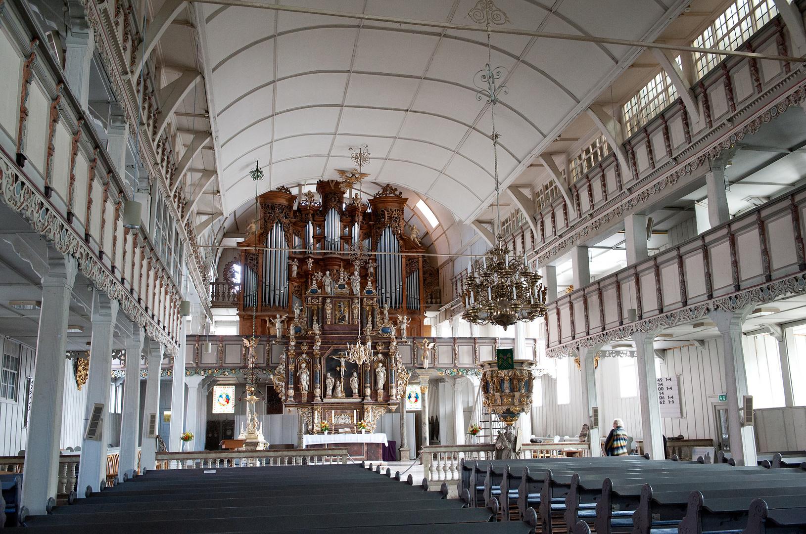 historische Holzkirche in Clausthal-Zellerfeld