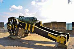 Historische Kanone, Festung Königstein